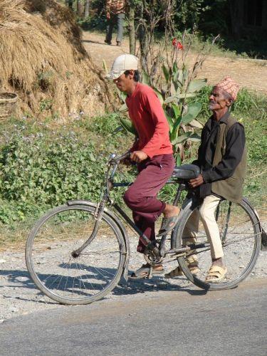 Zdjęcia: Chitwan Park, Dolina Kathmandu, Rowerzyści, NEPAL