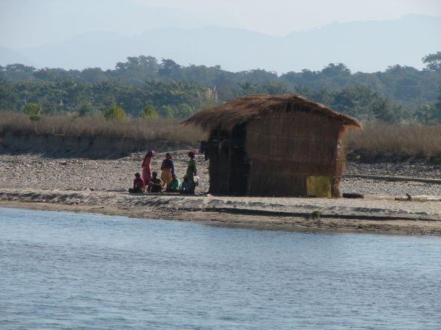 Zdjęcia: Chitwan Park, Dolina Kathmandu, Szałas nad rzeką, NEPAL