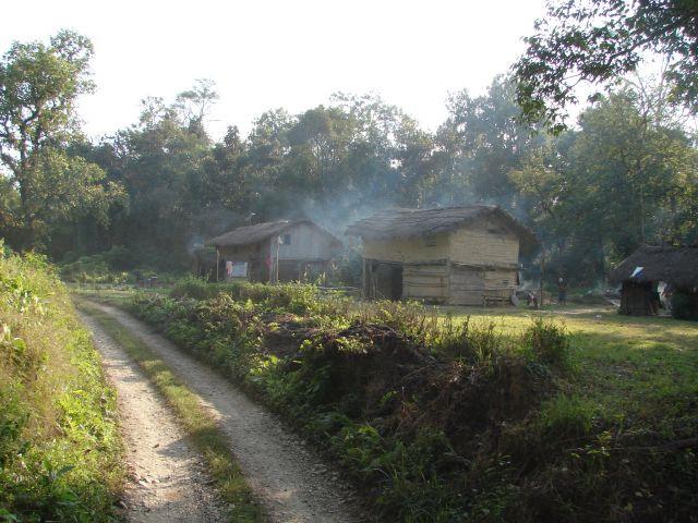 Zdj�cia: Chitwan Park, Dolina Kathmandu, Dom w dzungli, NEPAL