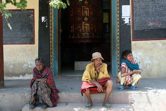 Zdjęcia: PATAN, Siesta, NEPAL