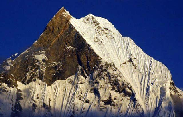 Zdjęcia: Annapurna Base Camp 4130 mnpm, Annapurna Sanctuary, Machhapuchhre o poranku, NEPAL