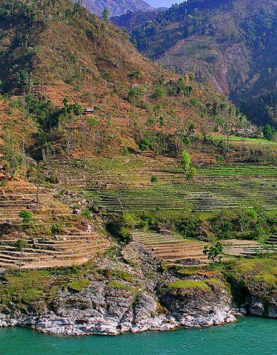 Zdjęcia: Rzeka TRISULI, Kaskady, NEPAL