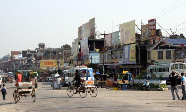 Zdjęcia: Bahrawa, Granica, NEPAL