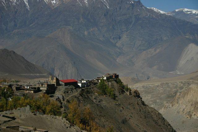 Zdj�cia: Jharkot, Mustang, �redniowieczna twierdza, NEPAL