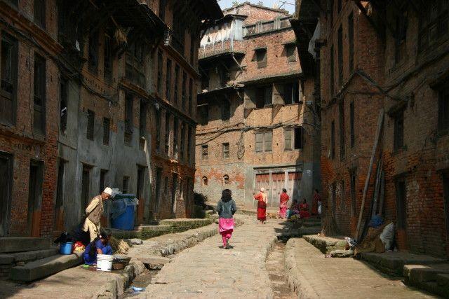 Zdjęcia: Okolice Durbar Square, Bhaktapur, Zaułki Bhaktapur, NEPAL