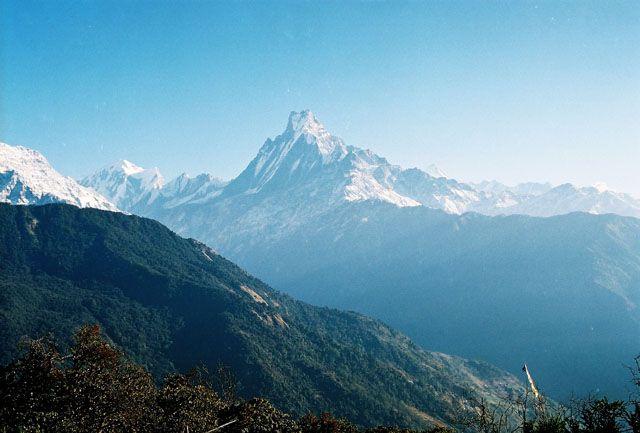 Zdjęcia: Szlak: Tadapani - Gandruk, -Masyw Annapurny, Machhapuchhre (6997 m.), NEPAL