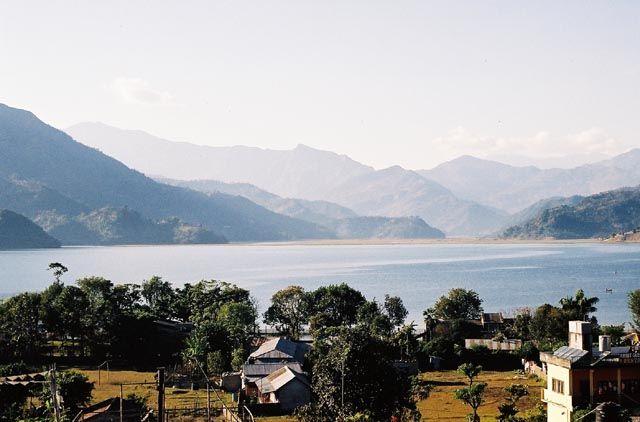 Zdj�cia: Pokhara, Jezioro Fewa, NEPAL