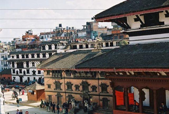 Zdjęcia: Kathmandu, Dolina Kathmandu, Durbar Square - Kumari House, NEPAL