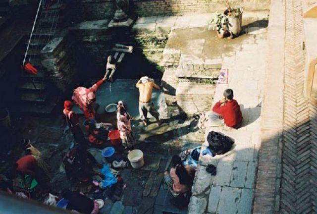 Zdjęcia: Kathmandu, Dolina Kathmandu, Hiti - nepalska łaźnia, NEPAL