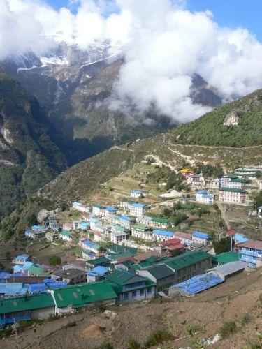 Zdjęcia: Namche Bazar, Himalaje, Namche Bazar, NEPAL