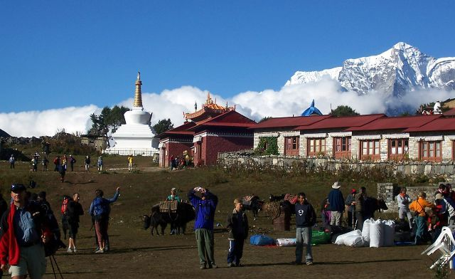 Zdjęcia: Tengboche, Himalaje, Tengboche, NEPAL