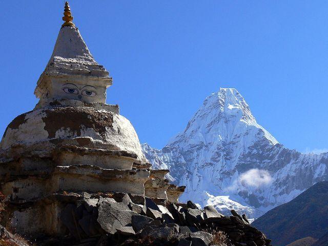 Zdjęcia: Ama Dablam, Himalaje, Ama Dablam, NEPAL