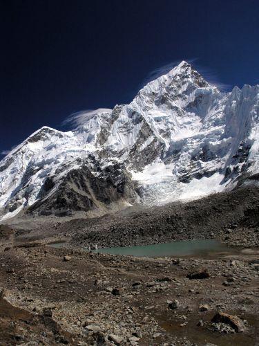 Zdjęcia: Gorak Shep, Himalaje, Nuptse, NEPAL