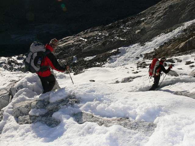 Zdj�cia: Cho La, Himalaje, Zej�cie z Cho La, NEPAL