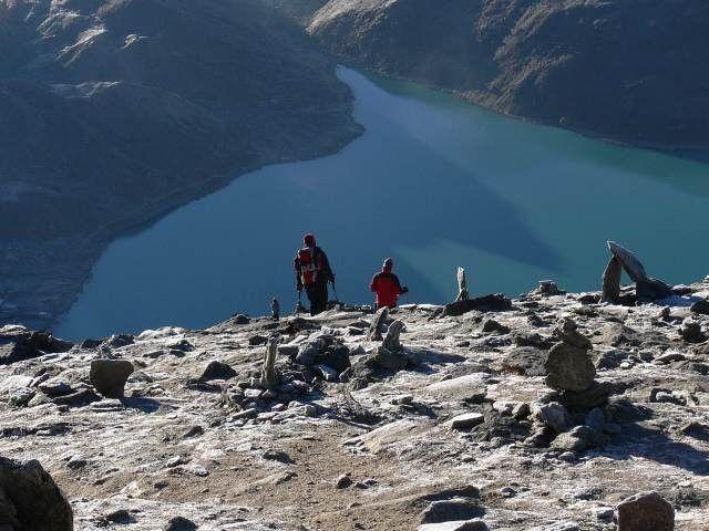 Zdjęcia: Gokyo, Himalaje, Zejście z Gokyo, NEPAL