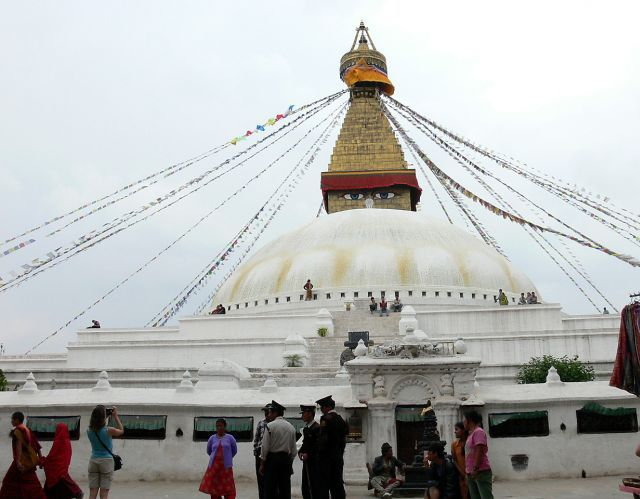 Zdjęcia: Katmandu, Himalaje, Bodhnath, NEPAL