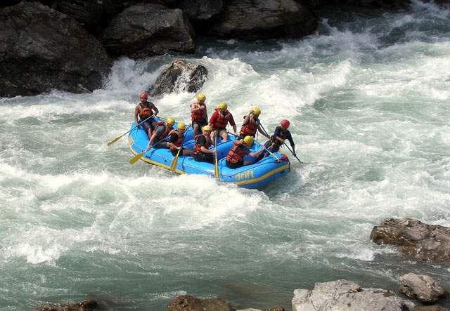 Zdjęcia: Nepal, Himalaje, Rafting, NEPAL