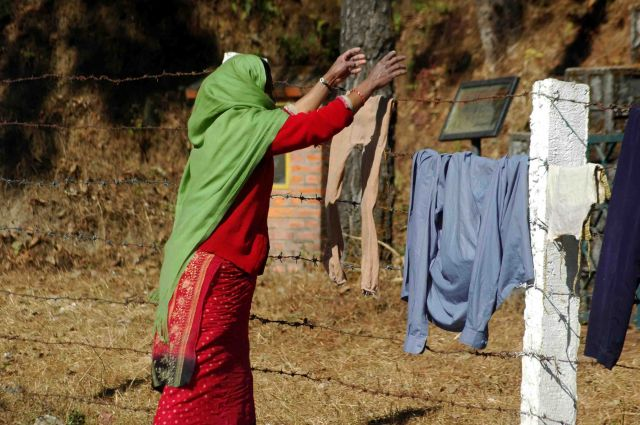 Zdjęcia: nagarkot, wojna, nie-wojna, pranie zrobić trzeba, NEPAL