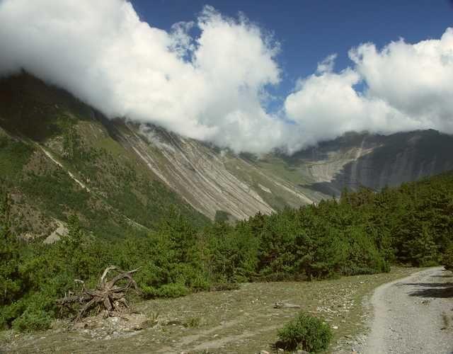 Zdj�cia: Pisang, Rejon Annapurny, Nepal, Pisang, NEPAL