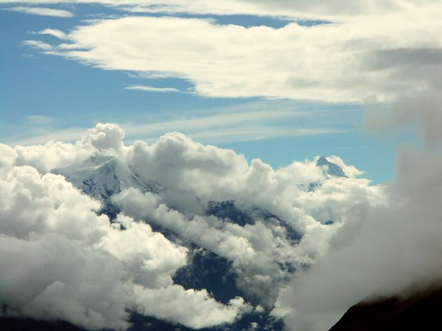 Zdjęcia: Tilicho, Annapurna, Zaraz zmieni się pogoda :(, NEPAL