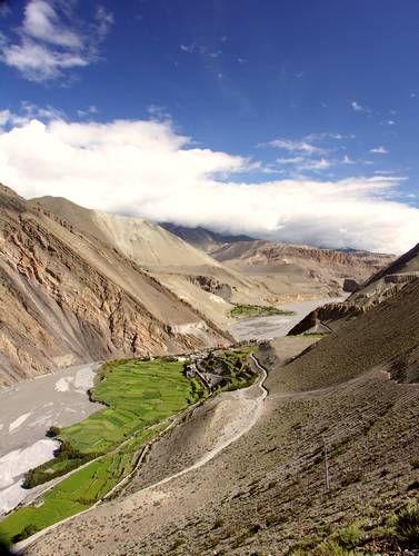 Zdjęcia: okolice Kagbeni, Annapurna, Wrota do Mustangu, NEPAL