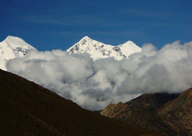 Zdjęcia: Wyjście z Mustangu, Annapurna, W drodze do Jomsom, NEPAL
