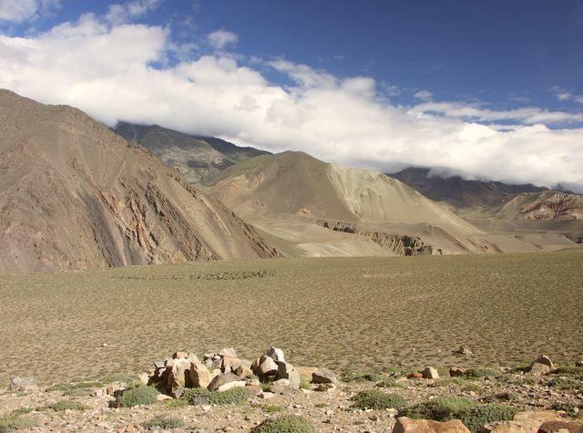 Zdjęcia: Kagbeni, Mustang, Wypas bydła, NEPAL