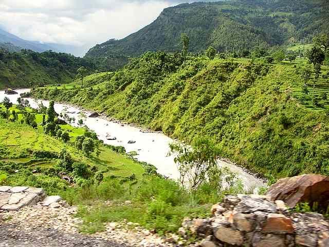 Zdj�cia: D�ungla, Annapurna Circuit, Pierwsze g�ry, NEPAL
