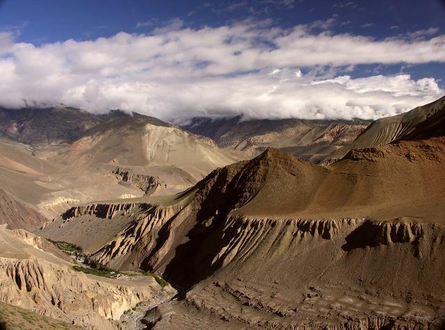 Zdjęcia: okolice Kagbeni, Annapurna Circuit, To nie księżyc, NEPAL
