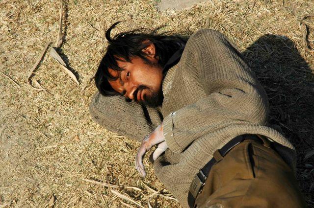 Zdjęcia: nagar kot, drzemka na łonie przyrody..., NEPAL