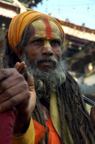 Zdjęcia: kathmandu, durbar sq, sadhu, NEPAL