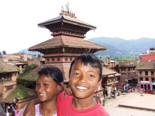Zdj�cia: gdzies na szlaku, nie ma to jak kumpel;), NEPAL