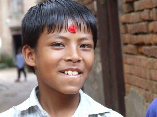 Zdjęcia: gdzieś na szlaku, mała mądrala:), NEPAL