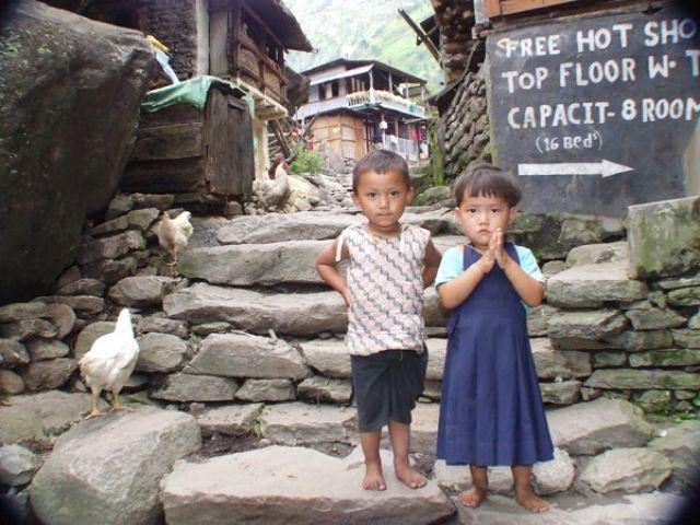 Zdjęcia: gdzieś na szlaku, namaste, czyli Dzien Dobry;), NEPAL
