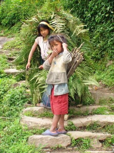 Zdjęcia: gdzieś na szlaku, nie ma lekko.., NEPAL