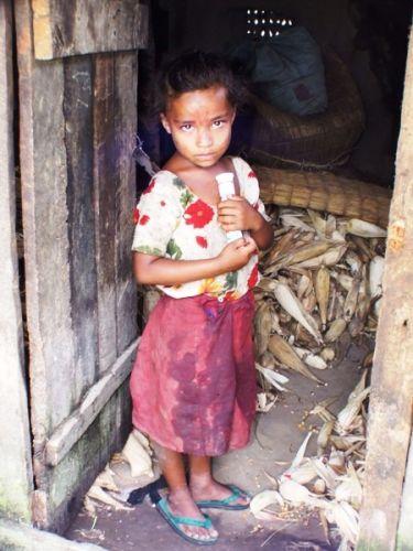 Zdjęcia: gdzieś na szlaku, tato, ktoś przyszedł.., NEPAL