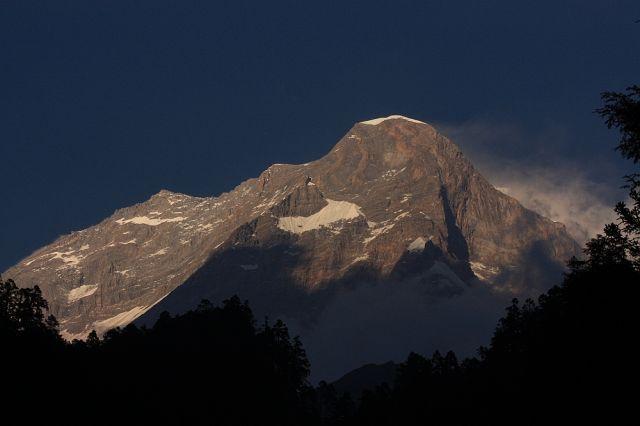 Zdjęcia: Widok z Choriban, Dhaulagiri, NEPAL