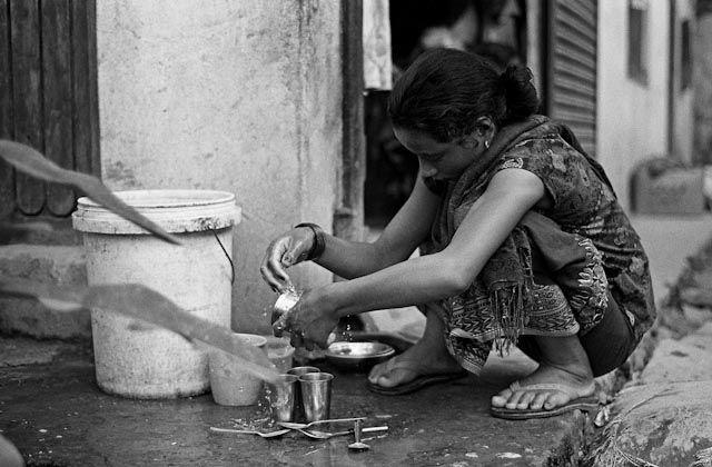 Zdjęcia: Besisahar, Annapurna, Dziewczyna z Besisahar, NEPAL