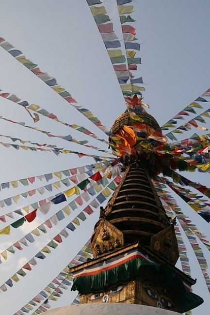 Zdjęcia: Thamel, Kathmandu, Kathesimbhu stupa, NEPAL