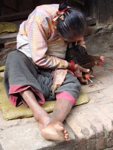 Zdjęcia: gdzies na szlaku.., szmanka?, NEPAL