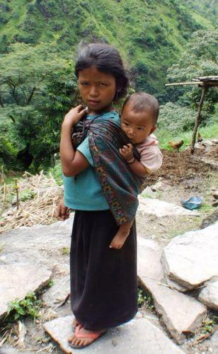 Zdjęcia: gdzies na szlaku.., małe jest piękne..ale które?;), NEPAL