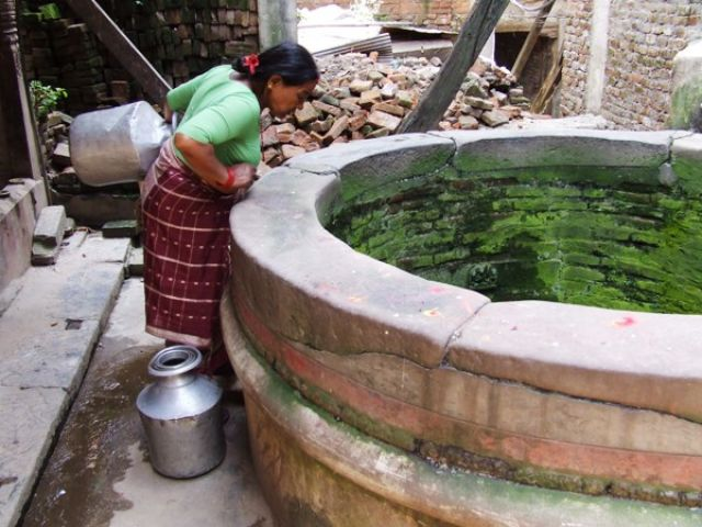 Zdj�cia: gdzies na szlaku.., czy aby nie nazbyt zielono..;), NEPAL