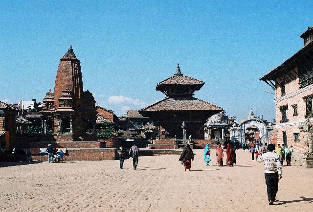 Zdj�cia: Bhaktapur, Durbar Square, NEPAL