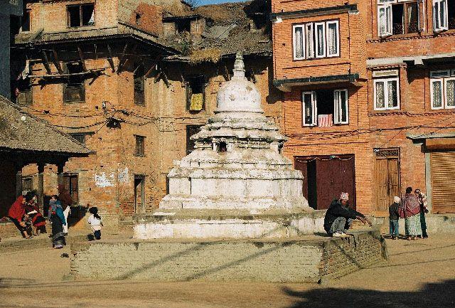 Zdjęcia: Bhaktapur, odpoczynek, NEPAL