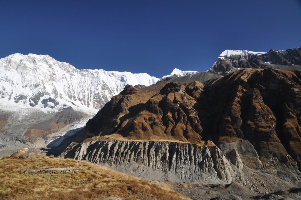 Zdjęcia: A.B,C., Annapurna Range, Widok z Annapurna Base Camp, NEPAL