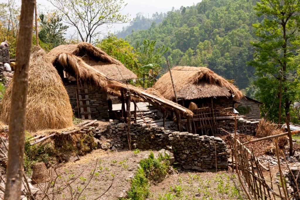 Zdjęcia: Nayapul, Annapurna,  na szlaku , NEPAL