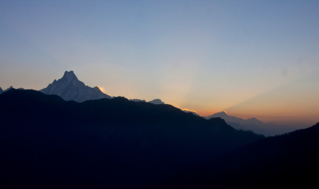 Zdjęcia: Pon Hill, Annapurna, Machhapuchhare, NEPAL