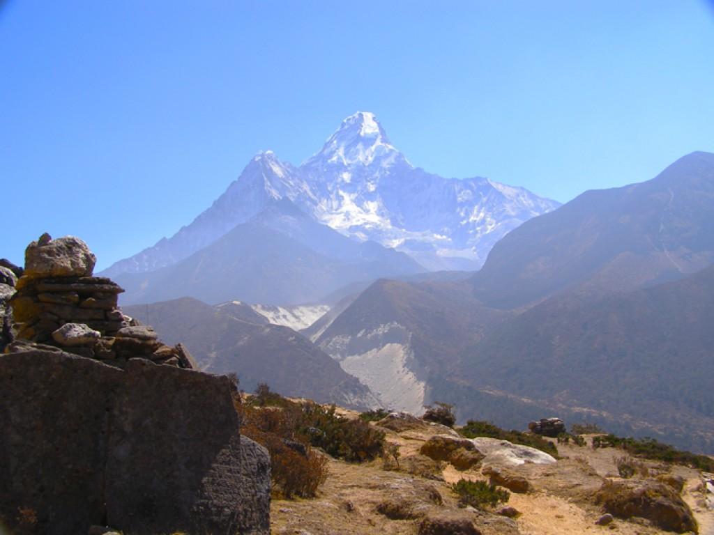 Zdjęcia: Amadablam, Sagarmatha, Amadablam, NEPAL