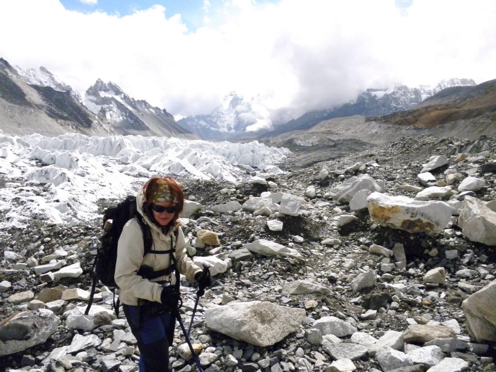 Zdjęcia: Everest Base Camp, Solo Khumbu, Rudzielec u stóp Everestu, NEPAL