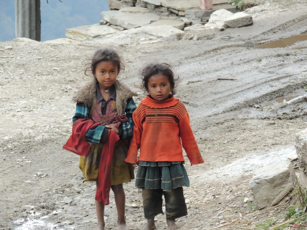 Zdjęcia: Region Annapurna , Dzieci w Nepalu, NEPAL